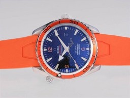 Fake excelencia Omega Seamaster Planet Ocean 007 Quantum Of Solace Edition AAA relojes [ C6L5 ]