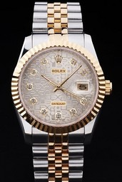 Fake excelencia Rolex Datejust AAA relojes [ H8X5 ]