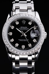 Fake excelencia Rolex Datejust AAA relojes [ M3U6 ]