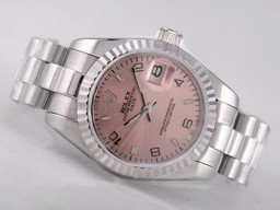 Fake excelencia Rolex Datejust Movimiento Con Champagne Dial Relojes AAA [ L7R7 ]
