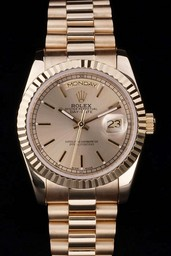 Fake excelencia Rolex Daydate AAA relojes [ B1S7 ]